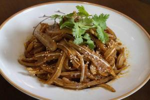 7.Pig Ear with chili sauce
